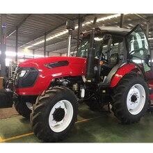 Фермерский трактор 4WD на 100 лошадиных сил можно выбрать множество оборудования