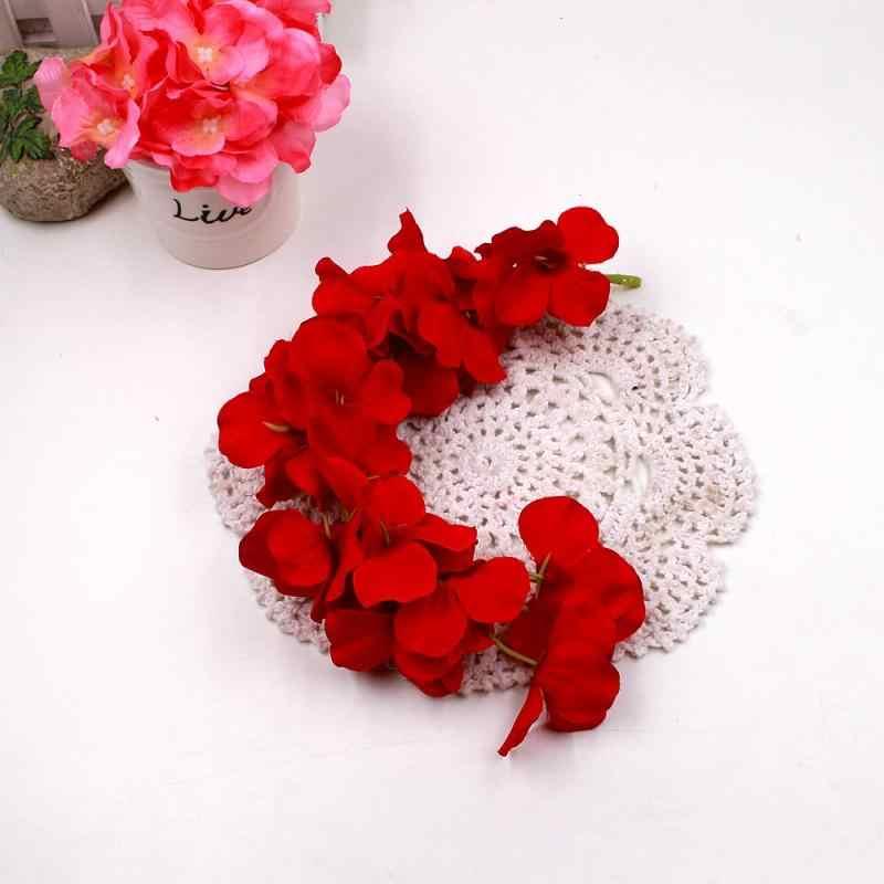 1 Pcs Bunga Tali Buatan Wisteria Vine Garland Tanaman Dedaunan Kolam Rumah Trailing Bunga Palsu Bunga Gantung Dinding Dekorasi