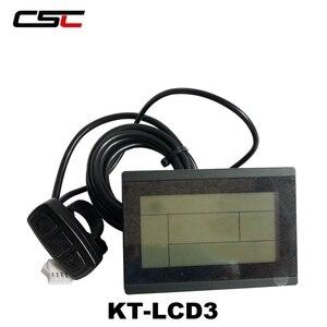 Image 3 - Wyświetlacz roweru elektrycznego 36V 48V inteligentny Panel sterowania rowerowego KT LCD3 LCD8 LED880 ebike LCD