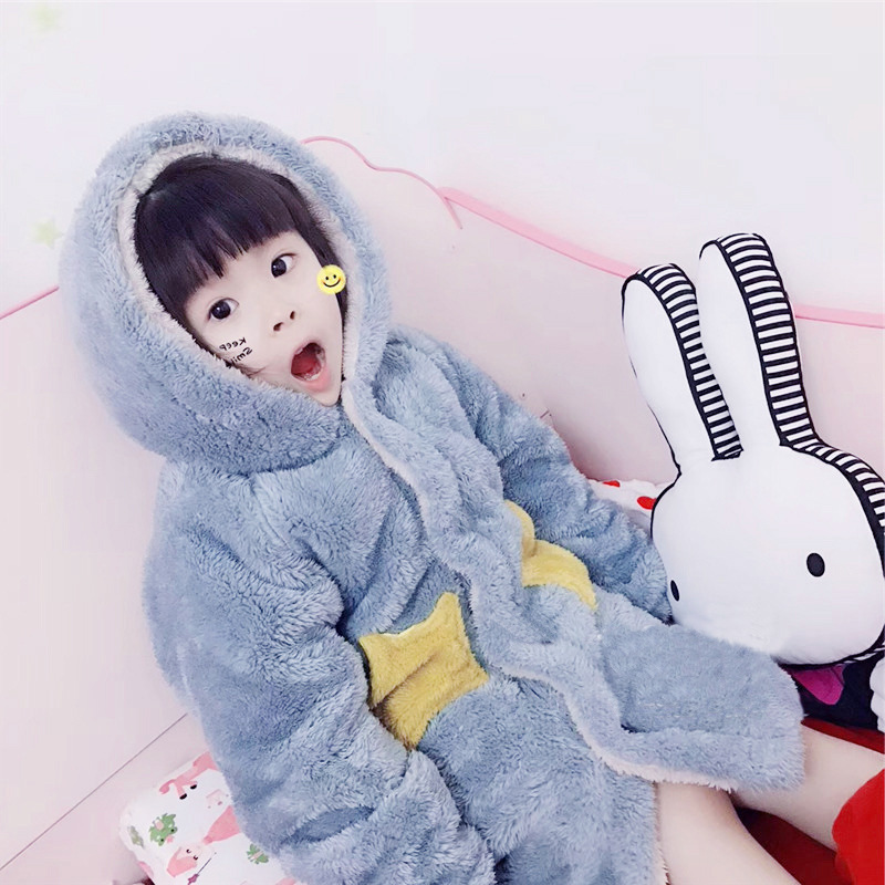 Wechat Business Trill Star Baby Home Wear Long CHILDREN'S Pajamas Tracksuit Baby Sleeping Bag