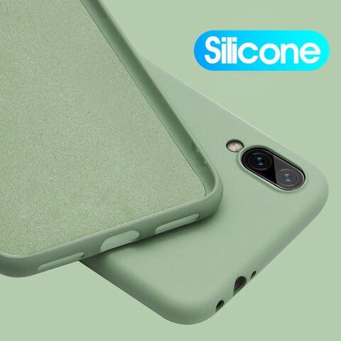 Luxury Soft Silicone Case For Xiaomi Redmi Note 7 Pro 6A 6 Pro Silicon Shockproof Back Covers Xiao mi Redmi Note7 Pro Cases 6Pro Pakistan