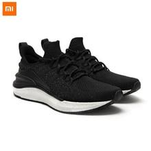 Xiaomi mijia novo sneaker 4 mi, tênis de corrida masculino, leve, respirável, palmilha de osso de peixe, bloqueio 4d, tecelagem, superior solado de instalação