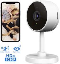 1080p WiFi inteligentny aparat fotograficzny bezprzewodowy kryty 2 4G zabezpieczenia IP z noktowizorem Monitor z iOS aplikacja na androida tanie tanio Samgeno wireless Wideo i Audio NONE HD 1080 P CN (pochodzenie)