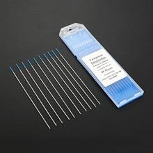 DRELD 10pcs/Set TIG Welding Tungsten Electrode Welding Electrodes 2% Lanthanated Blue 1/16