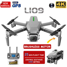 2020 New L109 Professional GPS Drone With 4K HD Dual Camera Brushless Motor Fold