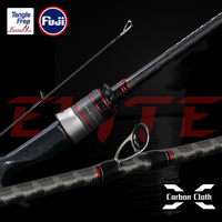 TSURINOYA Fishing Lure Rod ELITE Ⅲ Power L M ML MH 1.95m 2.03m 2.09m 2.13m FUJI Accessories Bass Spinning Casting Rod 2 Section