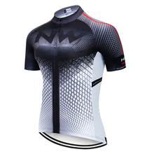 2019 Northwave Summer Cycling Jerseys Tops MTB Ropa Maillot Ciclismo Shirt Cycling Wear Clothes Bicycle Clothing NW Pro Team cheap Polyester Stretch Spandex Short Cycling jersey Only Spring Full Zipper Fits smaller than usual Please check this store s sizing info