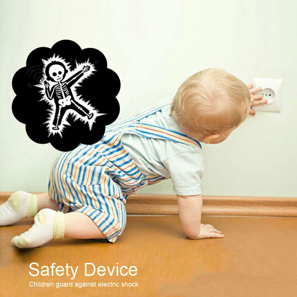 6x safety plug socket plugging exit children baby safety protective cover