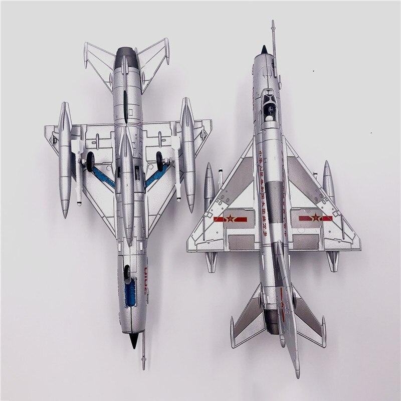 7 mig 21, modelo de fighter, ornamento