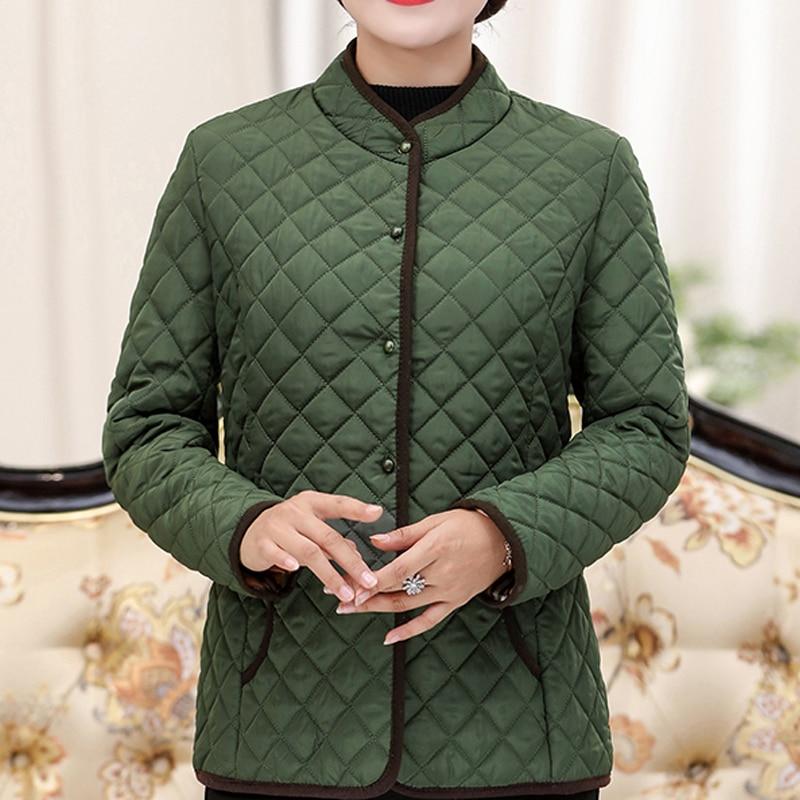 Jackets Women Coats Spring 2020 Winter Cotton-padded LParkas Chaqueta Mujer Jaqueta Plus Size XL~5XL Casaco Ladies Short Jacket