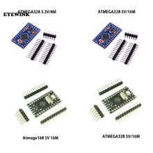 10 шт./лот Pro Mini 168/328 Atmega168 5V 16M / ATMEGA328P-MU 328P Mini ATMEGA328 5V/16MHz для совместимого модуля Arduino Nano