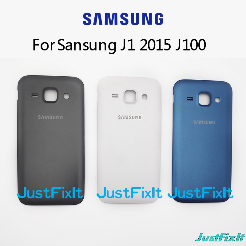For <font><b>Samsung</b></font> <font><b>Galaxy</b></font> J1 <font><b>2015</b></font> <font><b>J100</b></font> J100F J100H Original Mobile Phone Chassis Case Battery Back Cover door image