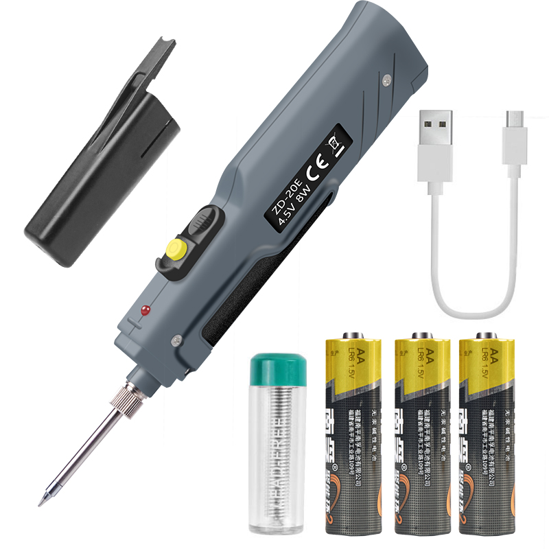 Ebakey 4.5V 8W Electric Rechargeable Soldering Iron Battery Household Mini Multi-function Suit Portable Wireless Welding Pen
