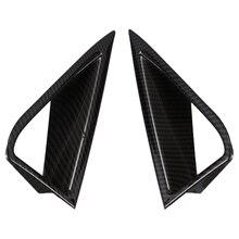 Автомобильный передний дневной ходовой светильник, декоративная крышка для Ford Mustang, автомобильные аксессуары