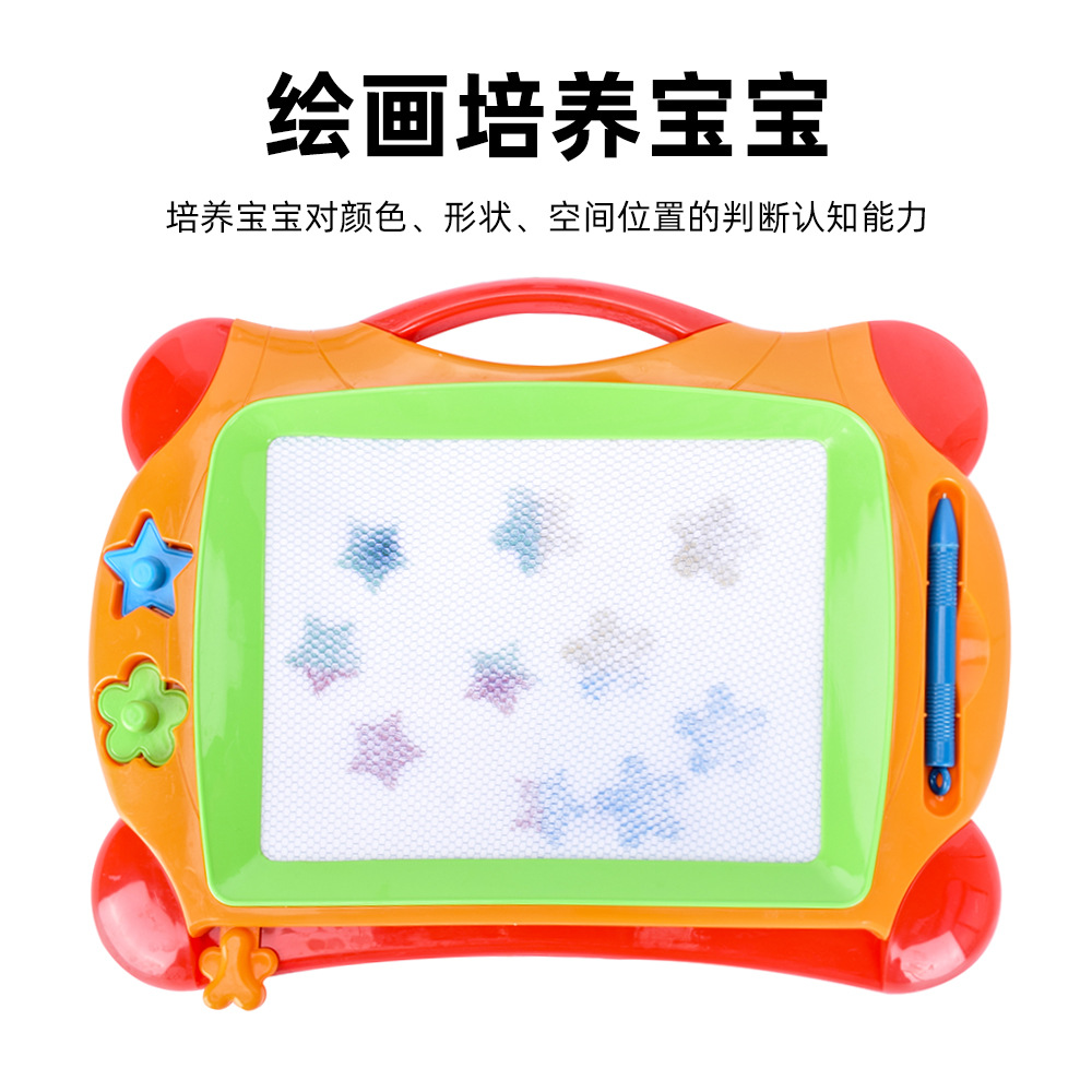 Color Magnetic Drawing Board Large Size Children Drawing Board Educational Early Childhood Writing Board Handwritten Doodle Boar