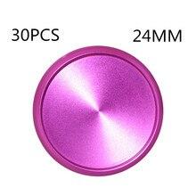 30PCS24MM metall aluminium legierung bindung schnalle, bindung spule, bindung CD, pilz loch lose-blatt bindung disc schnalle