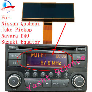 Cd-Player Lcd-Screen Note Car-Radio Juke Frontier Nissan Qashqai for X-Trail Dualis Navara