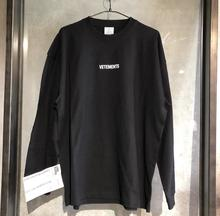 19FW VETEMENTS Hoodies Men Women Sticker Stranger Things oversize Streetwear High Quality Sweatshirt Embroidery Hoodie