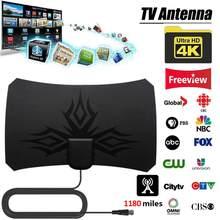 Yeni varış 1180 Miles 4K dijital HDTV kapalı anten amplifikatör sinyal güçlendirici ile TV yarıçapı sörf HD antenler hava
