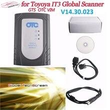 Para carros toyota frash reprogramação otc tis3 v14.30.023 varredor diagnóstico global techstream vim otc tis3 ferramenta de diagnóstico do carro