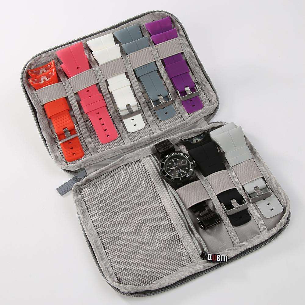 Travel Digital Storage Bag Cable Organizer Bag USB Cable Charger Earphone Case Apple Watch Sport Band Oragnizer Case