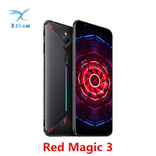 """Wersja ue Nubia Red Magic 3 telefon komórkowy 6.65 """"Snapdragon 855 odcisk palca z przodu 48MP z tyłu 16MP 8GB 128GB 5000mAh telefon do gier"""
