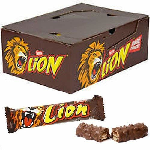 Lion ORIGINAL CHOCOLATE Bar By Nestle - Full Box Of 40 X 41g Bars