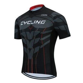 2020 RCC SKY Bike equipo hombres camisetas de ciclismo/ropa de bicicleta de manga corta estilo de verano Pro MTB bike jersey camisa