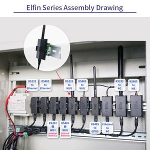 Image 3 - Elfin EW11 Elfin EW11 0 RS485 to WiFi Module Smart Home Serial Server Modbus TCP Homekit RJ45 TCP Protocol