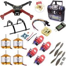 F330 PCB Frame Kit CC3D EVO Flight Controller Board XXD A2212 930KV Motor 20A Simonk ESC 8038 Props For Rc Quadcopter
