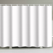 Shower Curtain Hotel Heavy Weight Waterproof and Mildew Free Bath Curtains White