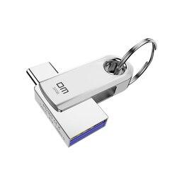 DM USB C dysk flash 64GB typu C USB flash napęd 32GB OTG pamięć USB wysokiej prędkości cle USB 3.0 pen Drive