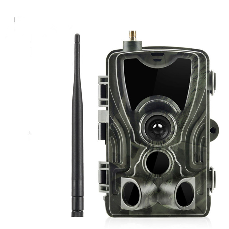 HC801M Trail Camera 2G SMS 1080P Infrared Night Vision 0.3S Trigger Time Wildlife Hunting Cameras Photo Video Surveillance New