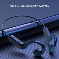 Q02 auricular inalámbrico sensible Larga modo de reposo TimeEar montado en la conducción ósea Bluetooth-compatible5 1 auricular de alta fidelidad deportes