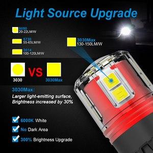 Image 4 - NAO W16W LED أضواء T15 T16 12 فولت 24 فولت 2000Lm سيارة احتياطية لمبة أبيض أحمر 912 لسيارات Bmw e46 e90 e39 السيارات عكس الذيل ملحقات المصابيح