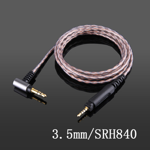 Image 2 - Shure – câble de balance 4.4mm 2.5mm, en cuivre monocristallin, pour casque découte, SRH840, SRH940, SRH440, SHP8900, SHP9000, SHP895, 750