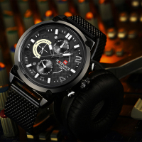 AVIFORCE NF9068S Fashion Casual Quartz Watch Men's Waterproof Sport Watche 2