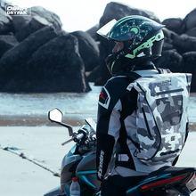 OSAH Waterproof Outdoor 25L Motocycle Backpack Dry Bag Water Resistant Heavy Duty Roll-Top Closure Cushioned Padded Back Panel cheap OSAH DRYPAK River Trekking