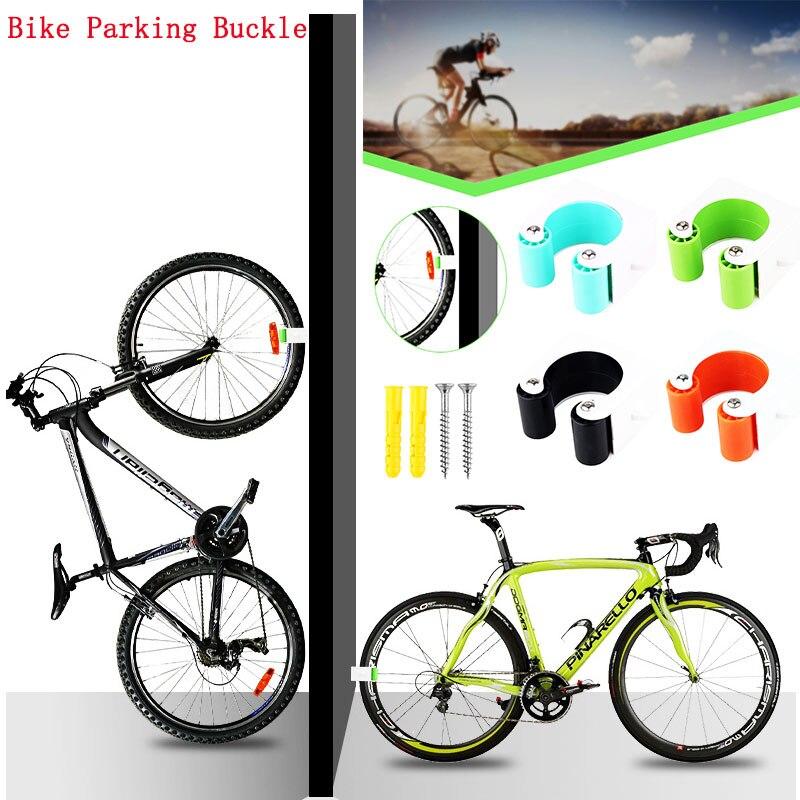 Criativo bicicleta fivela de estacionamento acessórios de estacionamento 7.5x8cm corrida rack de bicicleta casa gancho parede rack de bicicleta|Rack de bicicleta|   - AliExpress