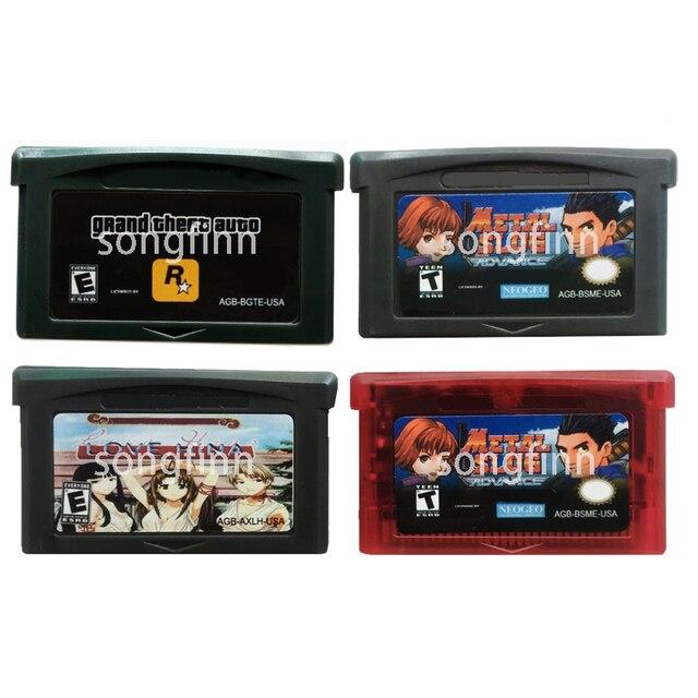 Lufia גרנד גניבה אוטומטי חינה אהבה קליע מתכת זיכרון מחסנית כרטיס עבור 32 קצת משחק וידאו קונסולת אבזרים
