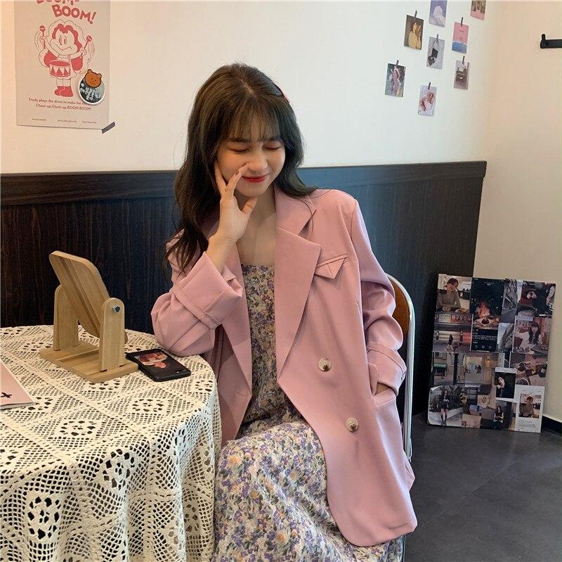 Summer New thin Blazer Jacket Women Casual Long Sleeve Work Suit Coat Office Lady Solid Slim Blazers