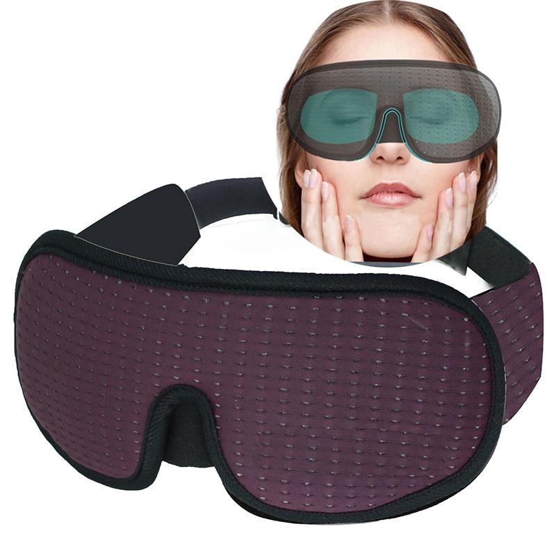 3D Sleeping Mask Block Out Light Soft Padded Sleep Mask For Eyes Slaapmasker Eye Shade Blindfold Sleeping Aid Face Mask Eyepatch|Sleep & Snoring|   - AliExpress