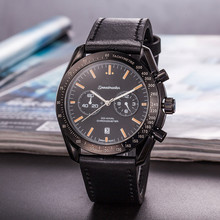 Top Brand Business Quartz Watches Men aaa Wristwatch with Leather Strap Relogio