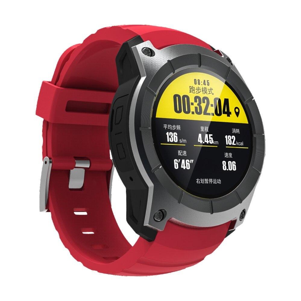 Smartch S958 gps Смарт часы многофункциональные спортивные часы монитор сердечного ритма часы Поддержка SIM TF карты барометр активности трек Mu - 2