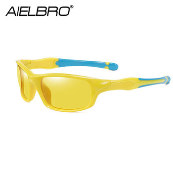 AIRLBRO Cycling Goggle 8 Color Polarized Sunglasses UV400 Cycling Sunglasses Men's Cycling Safety Glasses For Bicycle 3