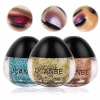 Professional Shimmer Body Glitter Eyeshadow Glitter Gel Art Flash Loose Sequins Cream Eyes Pigment Lips Makeup Comestic TSLM1