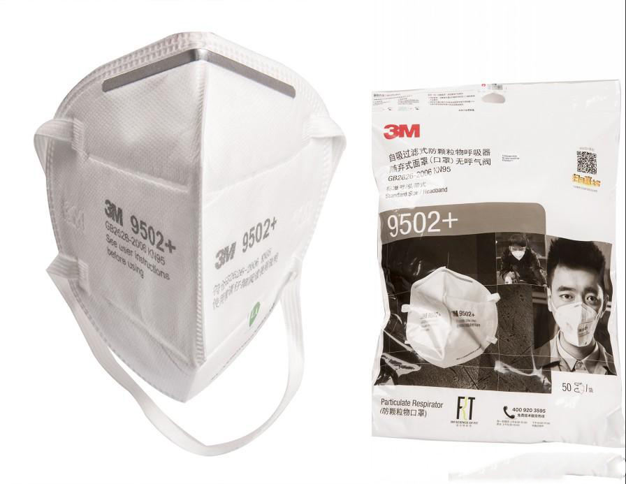 3M N95 Mask High Quality FFP2 Face Mask 9502 Protective Mascherine Mouth Cover KN95 Dustproof Masque In Stock Free Shipping