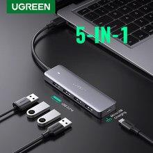 Ugreen – HUB USB 3.0 avec Micro-Charge, pour MacBook Surface Pro, accessoires d'ordinateur