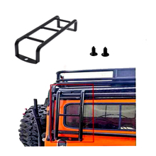 2PCS RC Mini Metal Ladder Stairs Accessories for 1/10 RC Crawler Traxxas TRX4 TRX-4  Body SCX10 90046 90047 D90  D110 2pcs trx4 metal cvd drive shaft assembly for 1 10 rc rock car crawler traxxas trx 4
