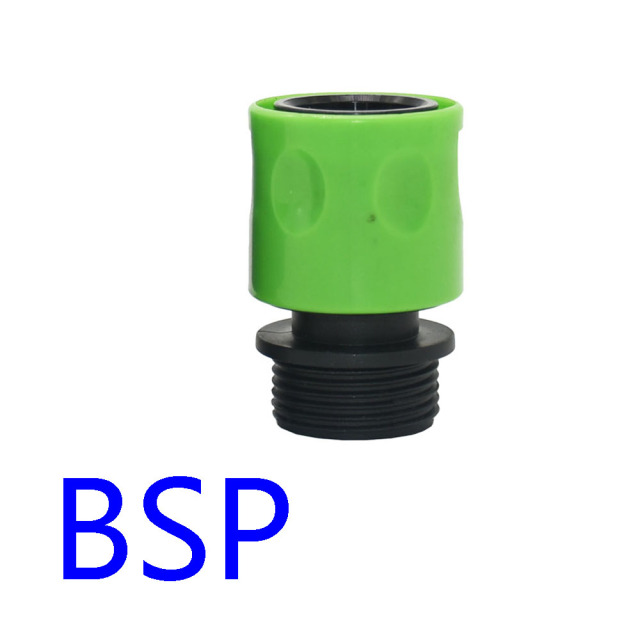 Garden 3/4 Inch Thread Quick Connector Male 3/4 Female Water Gun Connector Watering Hose Fitting 1PC
